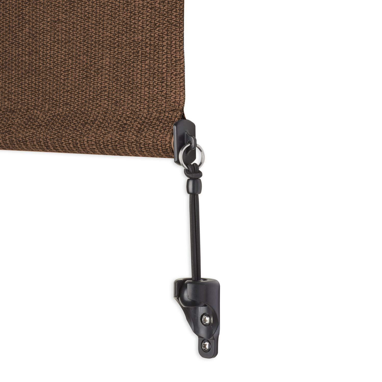Coolaroo Select Exterior Cordless Roller Shade 4ft x 6ft Mocha