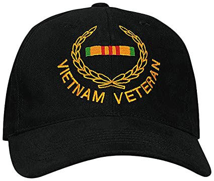 cc9b576442f Image Unavailable. Image not available for. Color  Rothco Vietnam Veteran Insignia  Cap ...