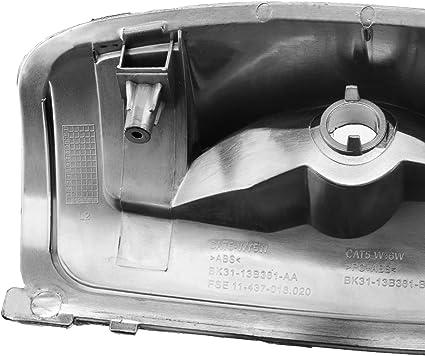 Verspiegelte Blinker Abdeckung Links Fahrerseite 1847387 Auto