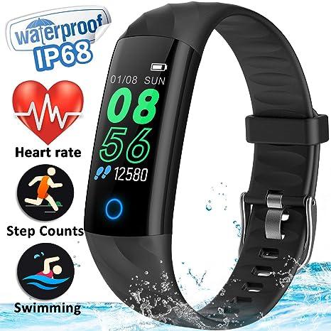 Watches Men's Watches Qualified 2019 New Smart Watch Ip68 Waterproof Color Screen Activity Fitness Tracker Heart Rate Monitor Smartwatch Men Women Sports Watch