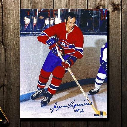 7650264a63e Jacques Laperriere Autographed Picture - RUSH 8x10 - Autographed NHL Photos