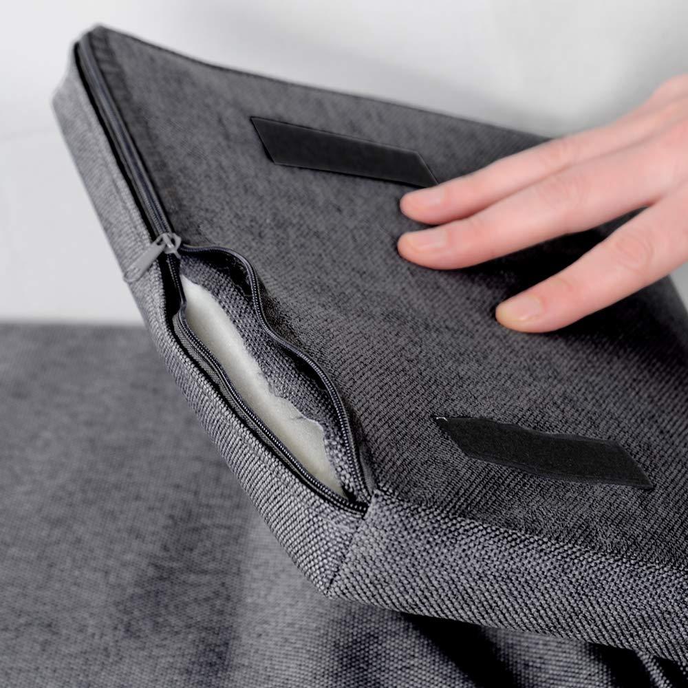 Kesper 103,5 x 48 x 29,5 cm L x A x P truciolato grigio Scarpiera effetto cemento con cuscino
