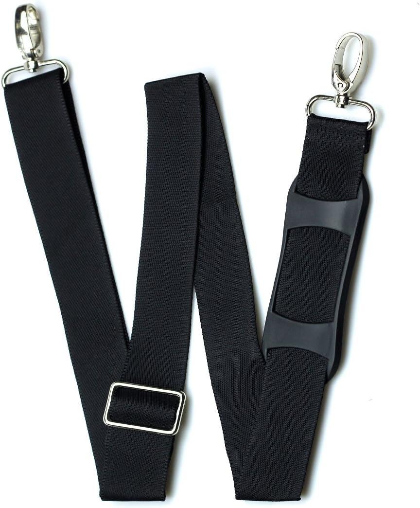 Hibate Remplacer Sangle Universel Bandouli/ères R/églables de Sac Bagages Non-Slip Pad