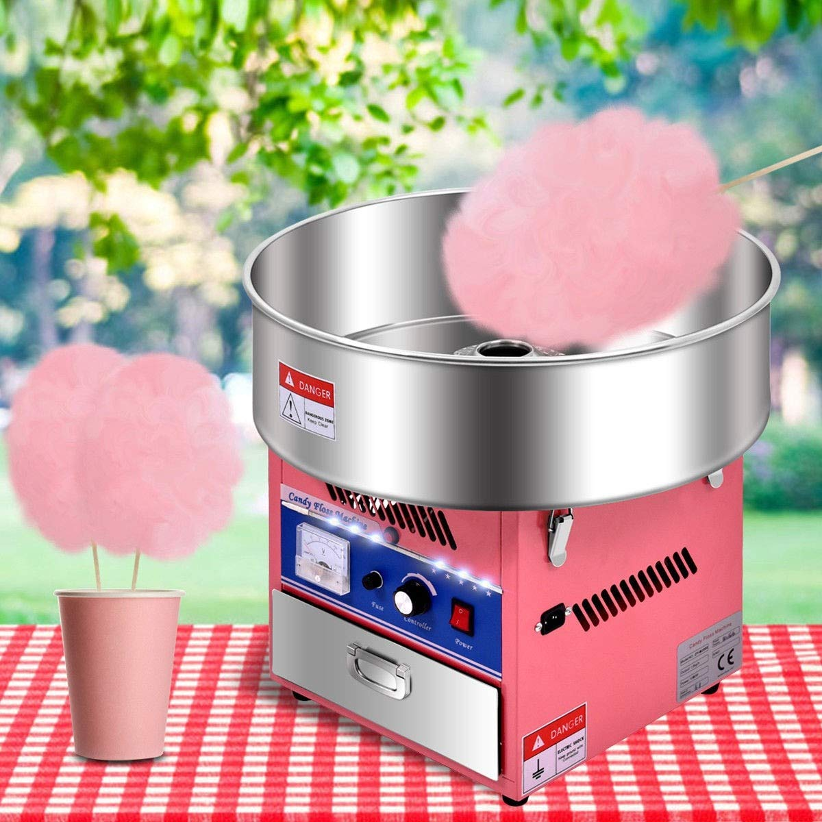 Cotton Candy Machine, Pink Electric Cotton Candy Machine by MD Group (Image #3)