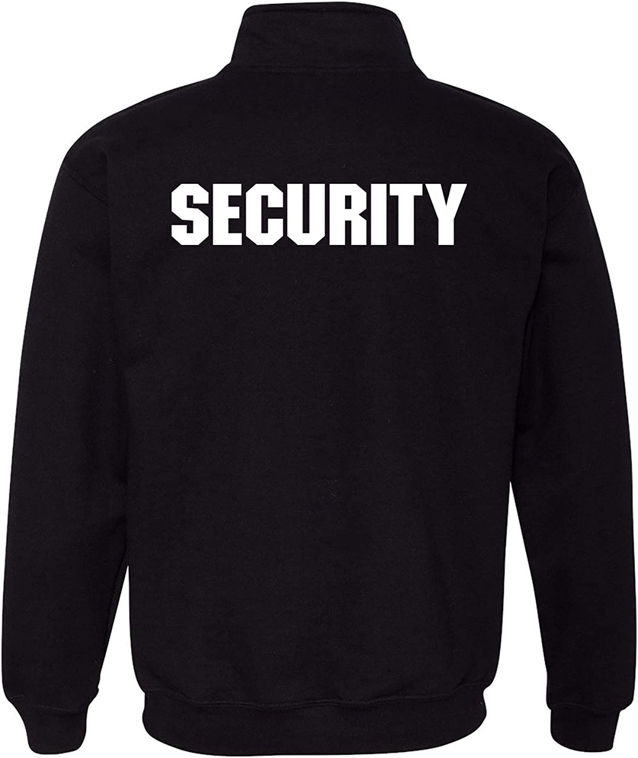 Bouncer Event Safety Staff Officer Guard 1//4 Zip Sweatshirt UGP Campus Apparel Security