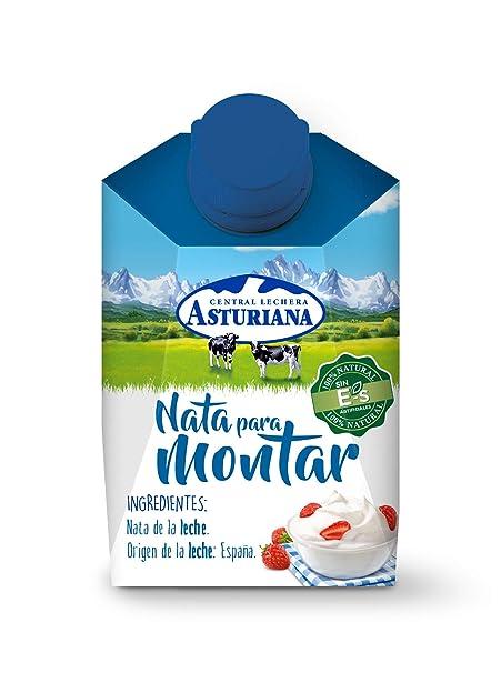Central Lechera Asturiana, Nata con 0.38 de grasa - 200 ml.