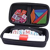 Storage Organizer Case for Osmo Genius Kit, fits OSMO Base/Starter/Numbers/Words/Tangram/Coding Awbie Game by Aenllosi