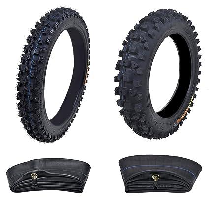 91b12e75a33 Amazon.com   Kenda Tire Set  Front Tire 60 100-14 With Inner Tube + ...