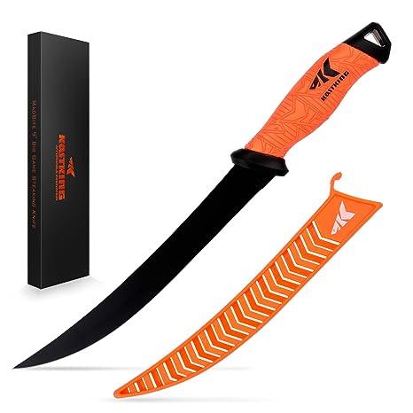 Amazon.com: Cuchillo de filete KastKing, cuchilla de acero ...