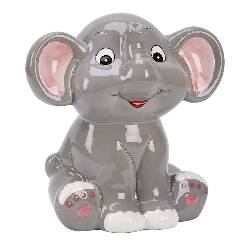 Ceramic Elephant Bank