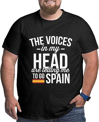Las Voces en mi Cabeza me Dicen Que Vaya a España Camiseta de ...