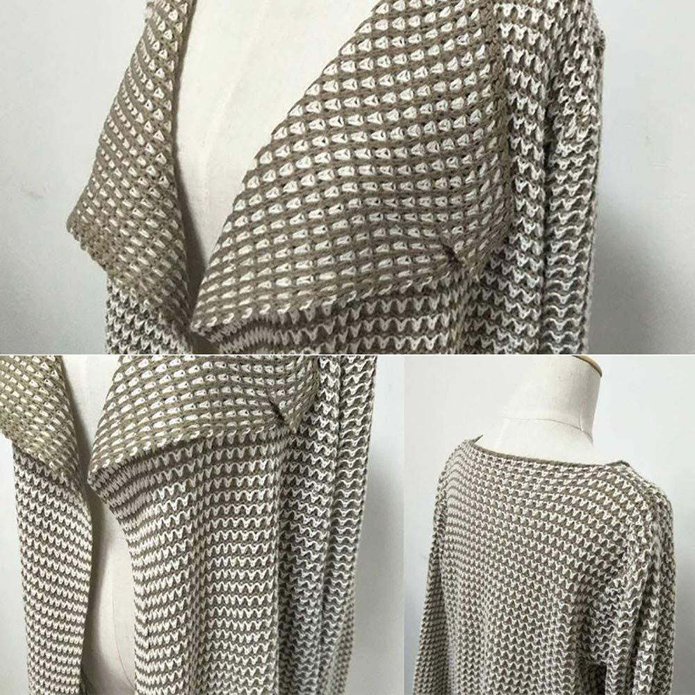 PERFURM Women Autumn Soft Knitted Cardigan New Irregular Blouse Casual Coat Sweater Knitwear Open Front Top