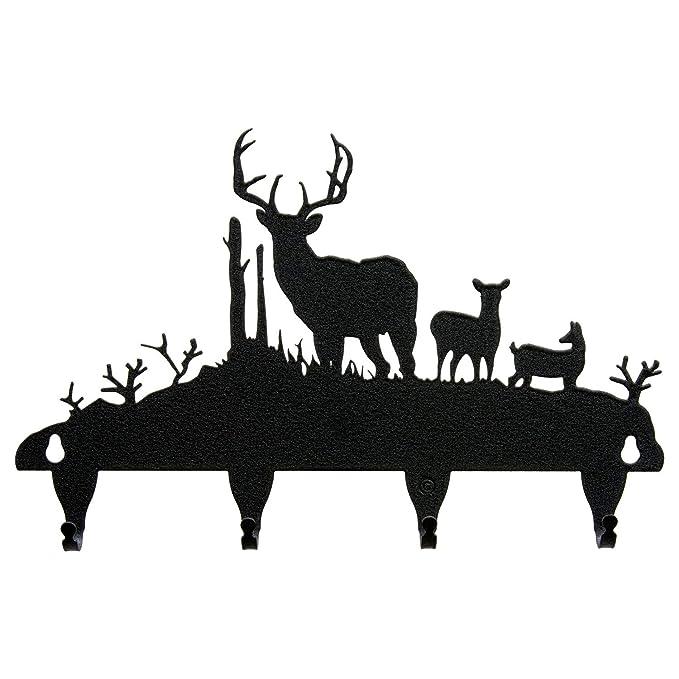 Amazon.com: Buck & Deer Key Ganchos: Sports & Outdoors