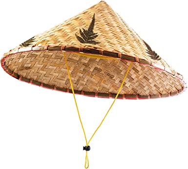 Amazon Com Funny Party Hats Asian Hat Rice Paddy Hat Chinese Hat Rice Farmer Hat Conical Hat Clothing