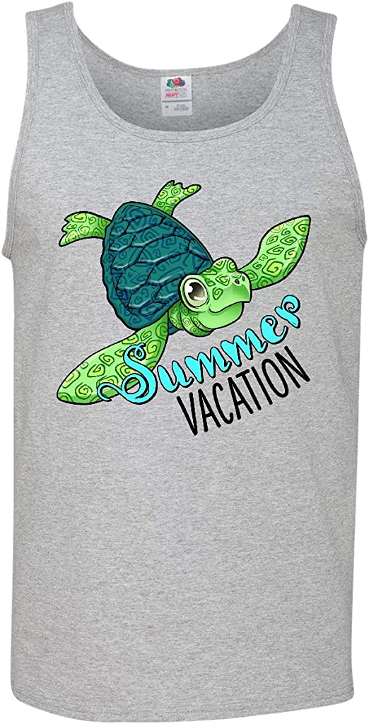 inktastic Summer Vacation Cute Sea Turtle Baby T-Shirt