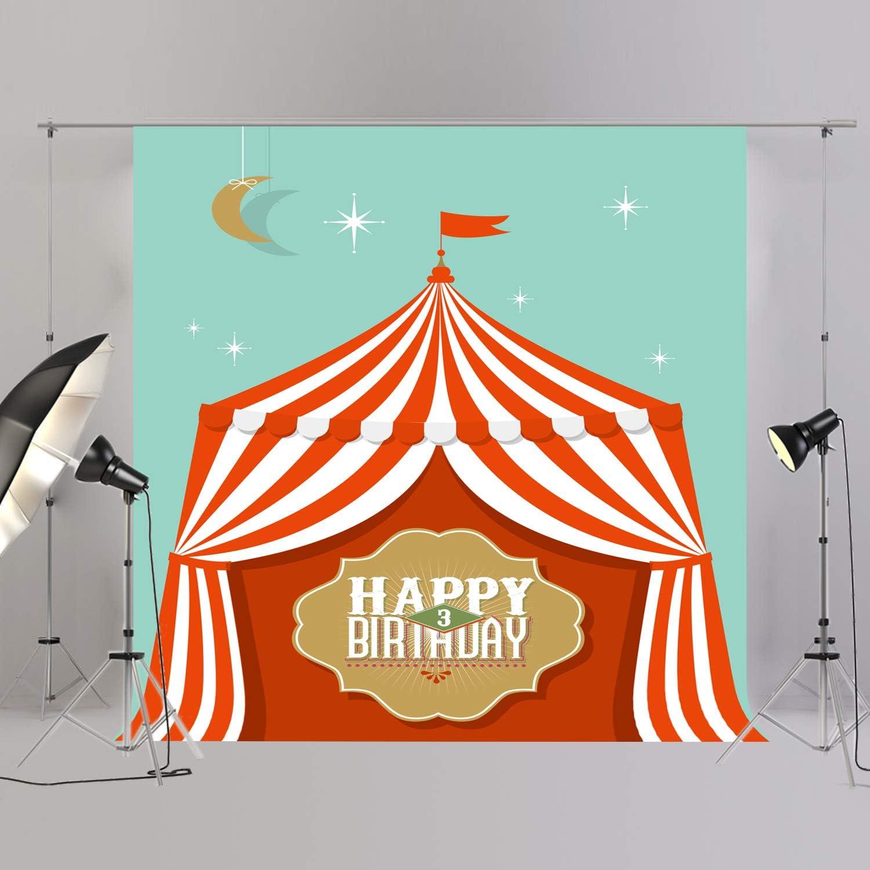 Joypark Circus Zelt Foto Booth Hintergrund Für Party Kamera