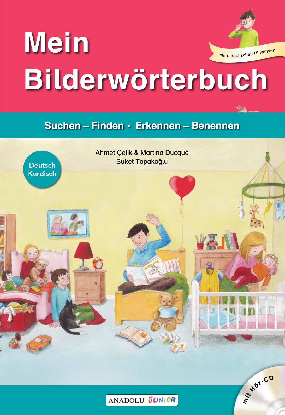 Mein Bilderwörterbuch, Deutsch - Kurdisch, m. Audio-CD: Amazon.de ...