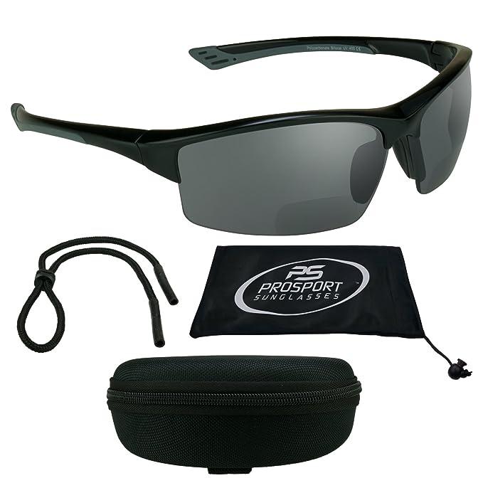Amazon.com: Humo – Lupa bifocal anteojos de sol polarizadas ...