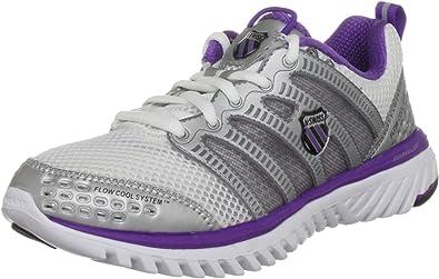 K-Swiss Womens Blade-Light Run - Zapatillas de correr para mujer, color blanco, talla 36: Amazon.es: Zapatos y complementos