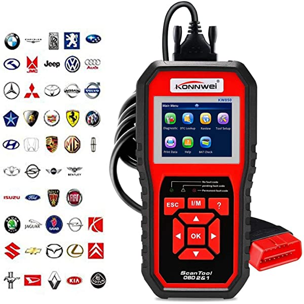 Car OBD2 EOBD Scan Tool Read Clear Check Engine Fault Code Reader Xtool SD500