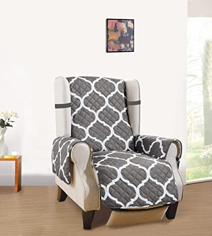 Delicieux GrandLinen Superior Quality Reversible Chair Cover 63u0026quot; X  73u0026quot; Furniture Protector For Pets