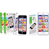 SystemsEleven JOUET Téléphone Bébé Enfants Y-Phone éducatif apprentissage enfants iPhone Jouet 4s 5 Cadeau - Y Téléphone Noir