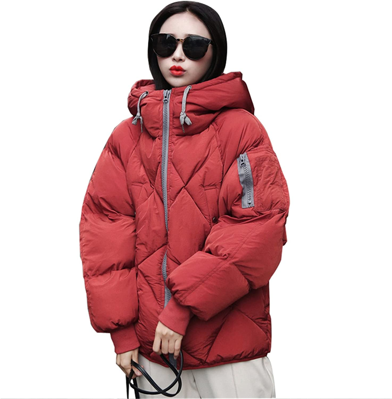 Feilongzaitianba Women Parka Fur Jacket Coat Female Down Jacket Parkas Casual Jackets Womens Down Thick Parka Wadded