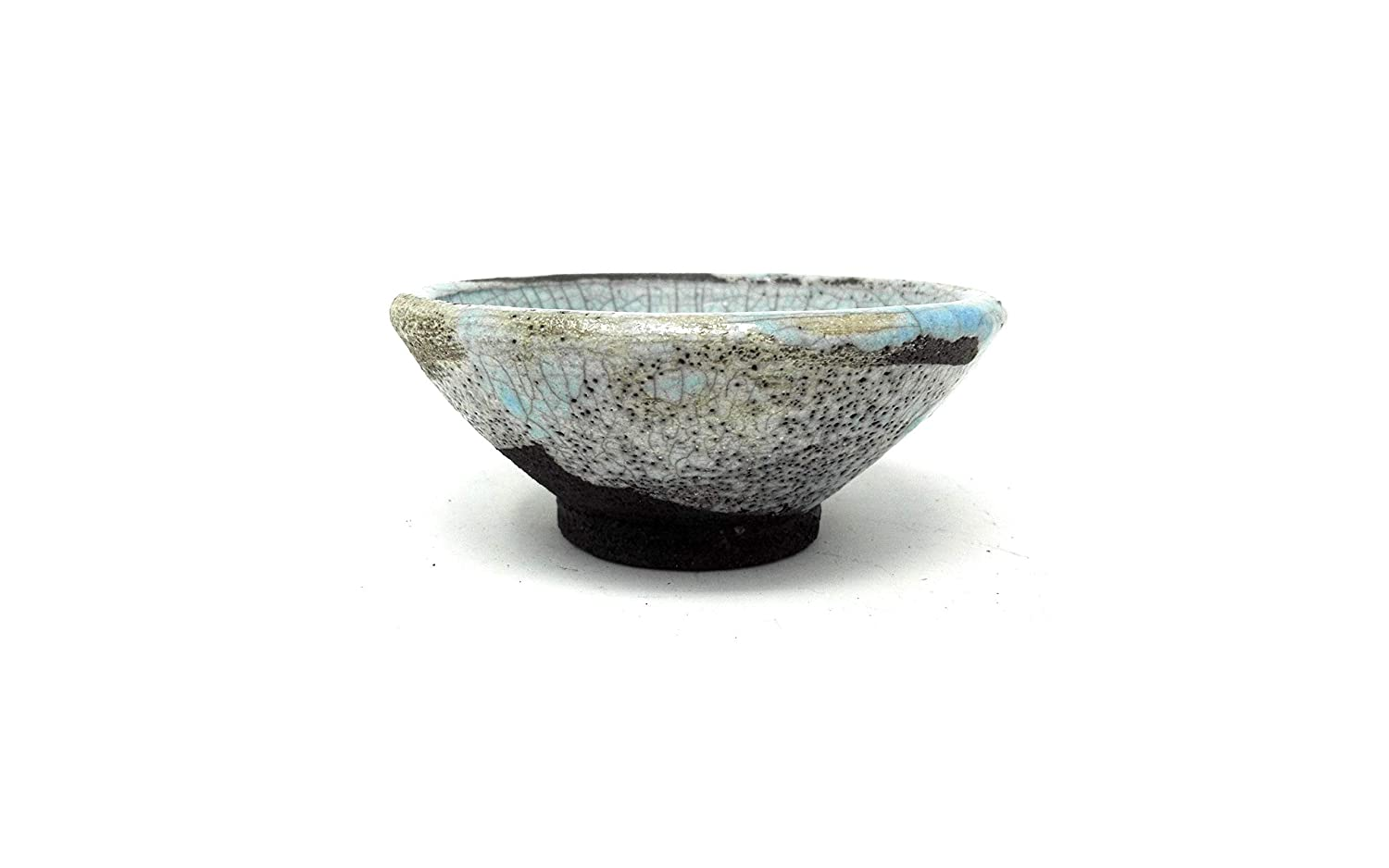 Japanese Tea Bowl Ceramic Raku 4