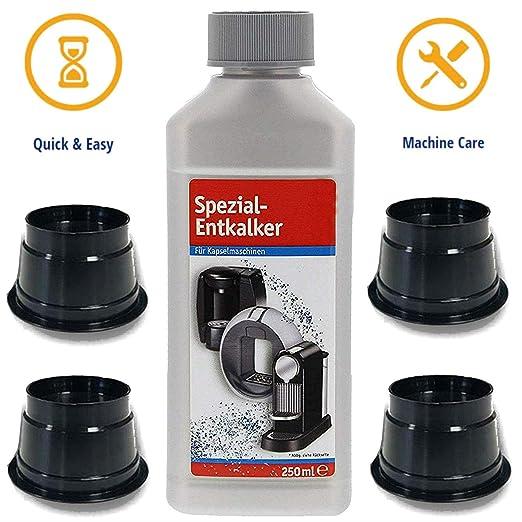 TronicXL - 4 cápsulas de limpieza para descalcificador ...