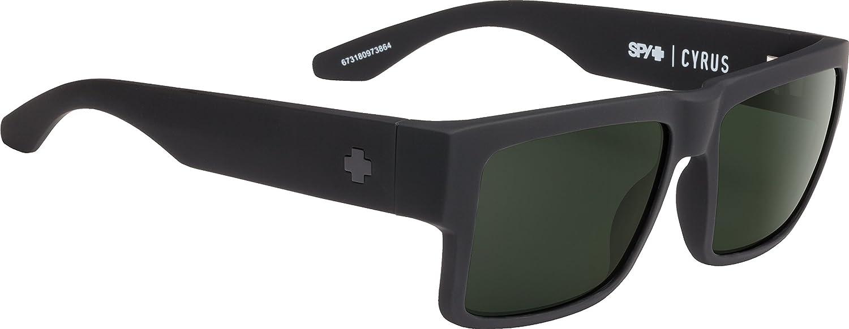 Spy Damen Sonnenbrille SOFT MATTE BLACK SFTMATblkHPYGRYGRNPO