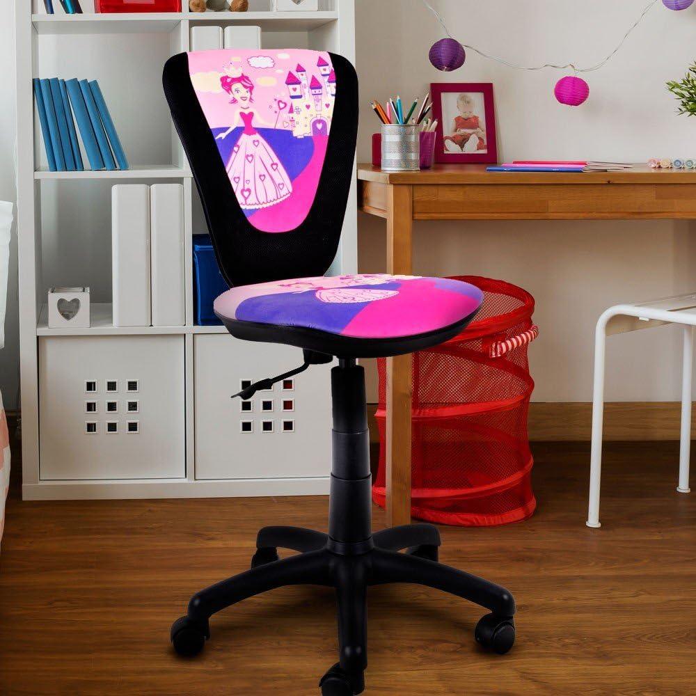 NOWY STYL Enfants Filles Chaise pivotante Chaise de Bureau