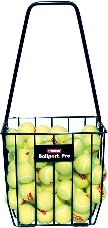 Tourna Ballport 85 Ball Pick up Tennis Hopper : Tennis Ball Hoppers : Sports & Outdoors