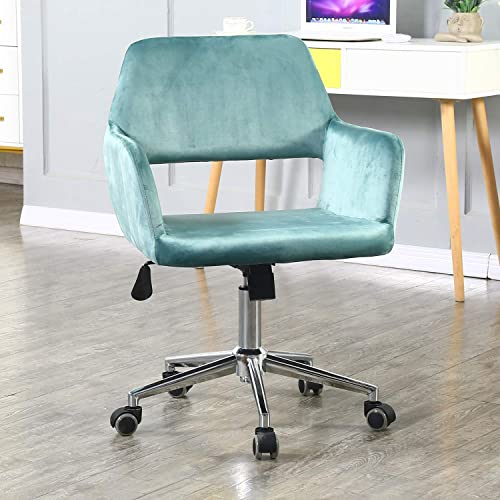 Velvet Fabric Home Office Chair