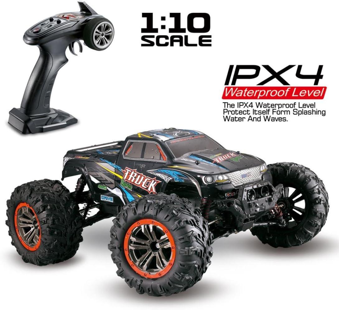 amazon com cars remote \u0026 app controlled vehicles toys \u0026 gamesrc car vanvler 1 10 scale high speed 46km h 2 4ghz 4wd