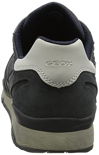 Amazon.com | Geox Mens Sandrob ABX Sneakers, Navy/Anthracite, 40 EU/7 M US | Fashion Sneakers