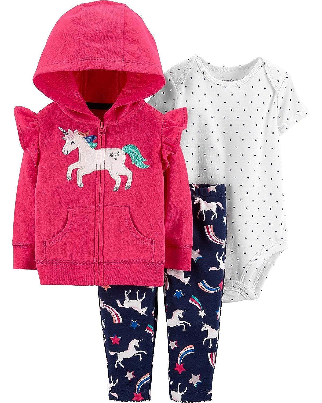 希少 黒入荷! Carter's ベビーガールズ PANTS ベビーガールズ Carter's B07KNCQPQ5 Pink 18/Unicorn 18 Months 18 Months|Pink/Unicorn, フレイバーシフォンケーキの店:0ae18f3f --- arianechie.dominiotemporario.com