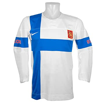 Team Finland Official 2014 Olympic Replica White Hockey Jersey XL ... 3866f83de48
