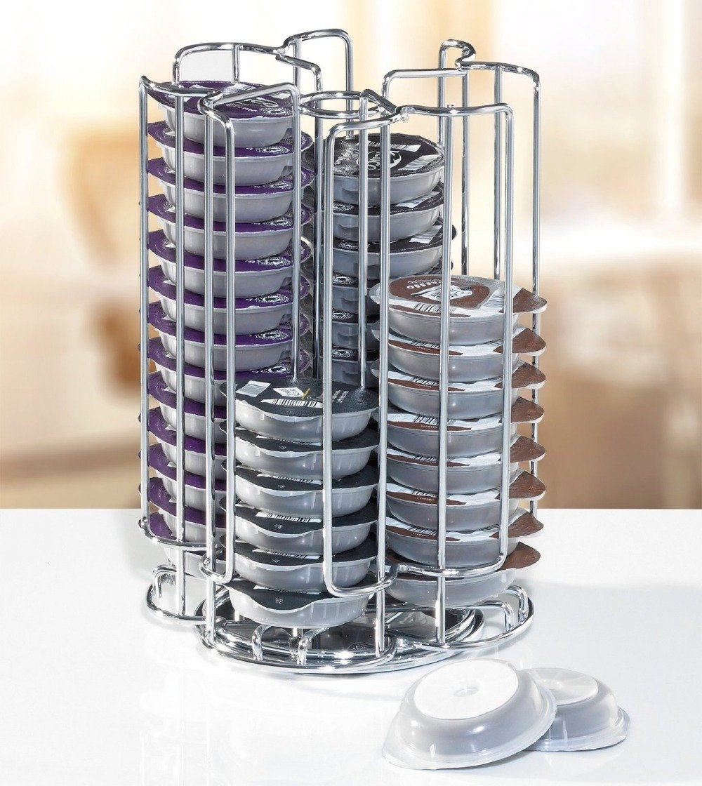 52 tassimo porte dosette disque capsule plate forme 4 niveaux tournant - Porte capsule tassimo ...