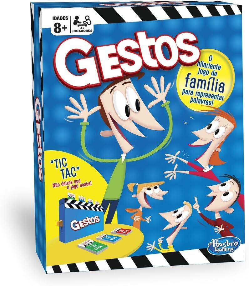Hasbro Gaming - Juego de mesa Gestos (Hasbro B0638190) (versión en ...