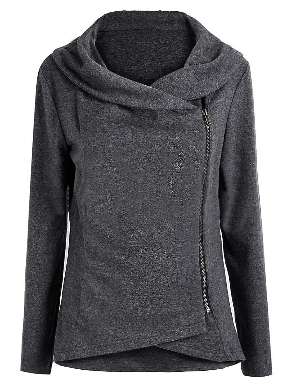 ca84fe9a753a 50%OFF Verdusa Women s Casual Slim Fit Hoodie Long Sleeve Pullover  Sweatshirt