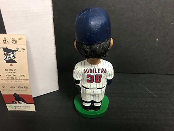 Rick Aguilera 2008 Minnesota Twins Limited Edition Bobblehead SGA with Ticket at Amazons Sports Collectibles Store