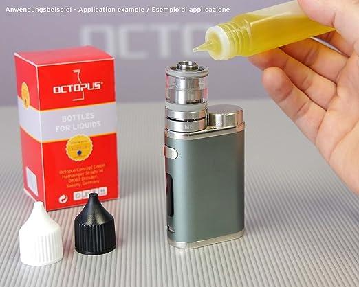10 x 30 ml frascos de E-líquidos, frascos dosificadores de PEBD blando para E-líquidos, cigarrillos electrónicos, frascos para pintar vacíos, ...