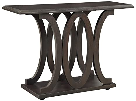 Strange C Shaped Sofa Table Cappuccino Alphanode Cool Chair Designs And Ideas Alphanodeonline