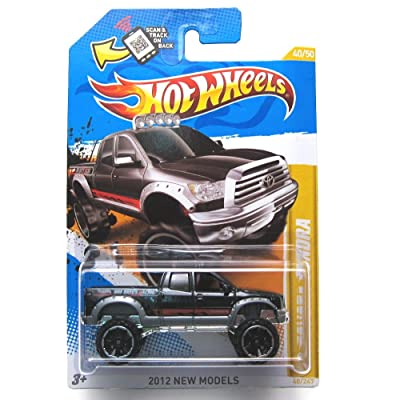 Hot Wheels 2012 New Models #40 / 50 #040 '10 Toyota Tundra Bro Dave's Racing Tampos: Toys & Games