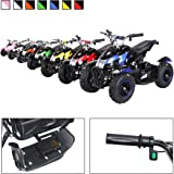 Mini Kinder Elektro Quad ATV Cobra 800 Watt 36 V Pocket Quad - Original Actionbikes Motors - Saftey Touch - Kinder E Bike (blau)