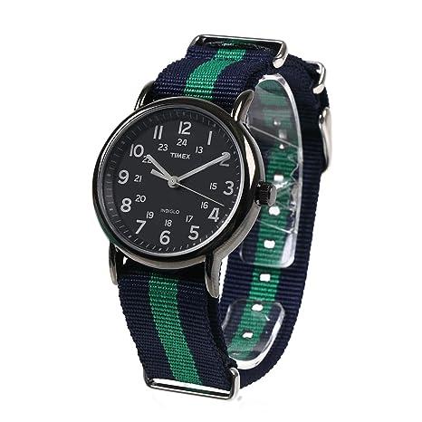ec28fe736e Amazon | NATMK NATO 時計ベルト 20mm ネイビーグリーン ナイロン ストラップ 取付マニュアル | 時計バンド | 腕時計 通販