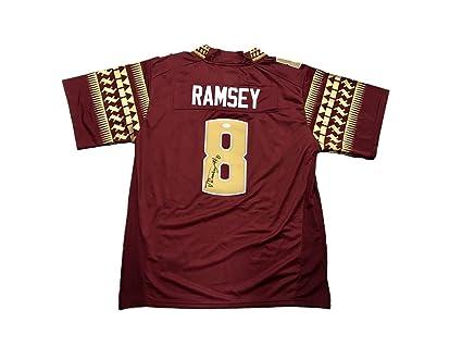 official photos 86961 93b74 Autographed Jalen Ramsey Jersey - FSU - JSA Certified ...