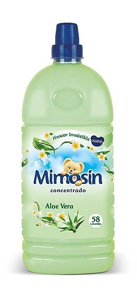 Mimosín Aloe Vera Suavizante Concentrado para 58 lavados - 1 Botella: Amazon.es: Amazon Pantry