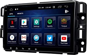 2020 Newest Android 10 Double Din Car Stereo, Eonon 8 Inch Car Radio Compatible with Chevrolet/GMC/Buick, GPS Navigation Radio Support Split Screen/Built-in Apple Carplay/DSP -GA9480B