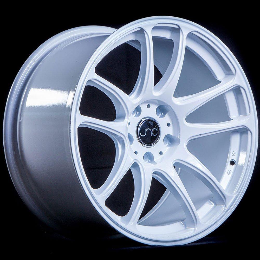 JNC Wheels - 17'' JNC030 White Rim - 5x100/5x114.3 - 17x9 inch
